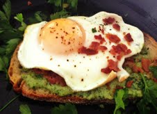 Breakfast Tartine